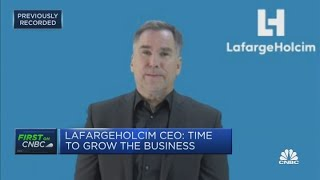LafargeHolcim CEO discusses 'strong' fourth-quarter numbers
