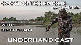 Tutorial Teknik Casting : Underhand Cast