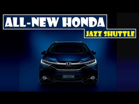 All-New Honda Jazz Shuttle, unveiled and only offered on the Japanese market