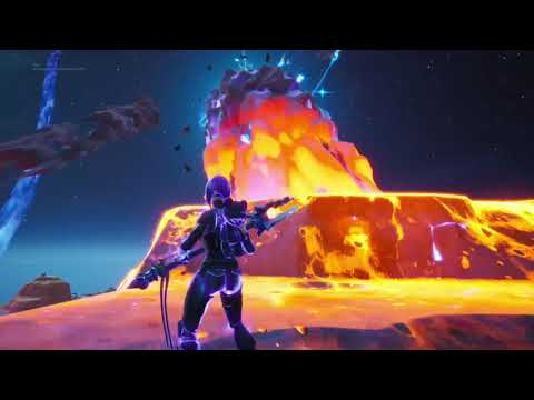 I WAS ON THE METEOR!!! FORTNITE END EVENT!!!