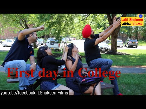 First day in College - Ragging Scene |...