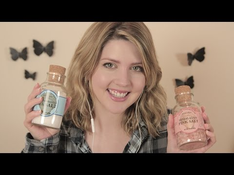ASMR | Healing Bath Salt Recipe for Relaxation & Tingles
