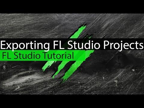 Exporting FL Studio Projects -  How to export FLP/ FL Studio Tutorial