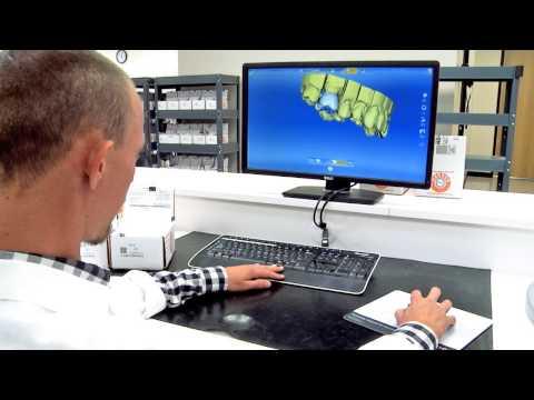 Iverson Dental Laboratories Behind the Scenes CAD CAM Department
