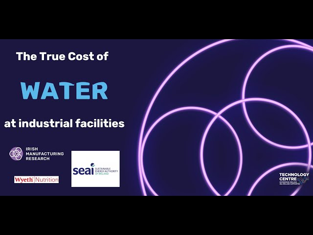 The True Cost of Water in Industrial Facilities