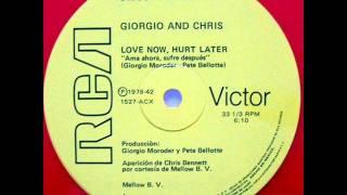 GIORGIO MORODER & CHRIS BENNETT- LOVE NOW, HURT LATER 1978.wmv