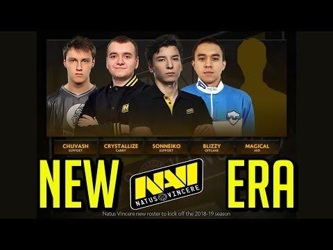 NaVi New Roster 2018 NEW ERA Dota 2 by Time 2 Dota #dota2 #FallShuffle2018 #navi