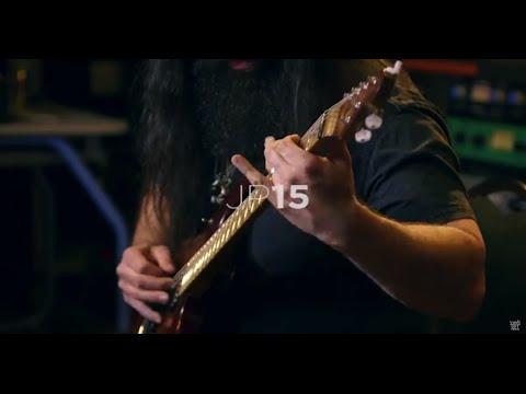 John Petrucci demos his Ernie Ball Music Man JP15