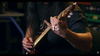 John Petrucci demos his Ernie Ball Music Man JP15