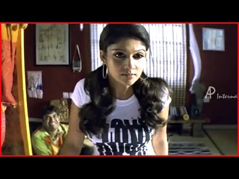 Satyam Tamil Movie - Nayantara tries to get the video tape from Vishal | Nayantara Comedy