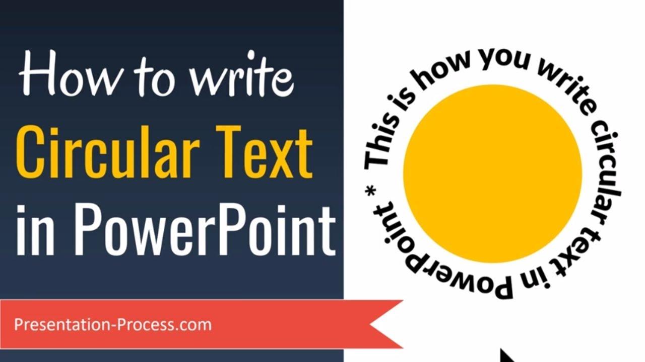 how to write a circular