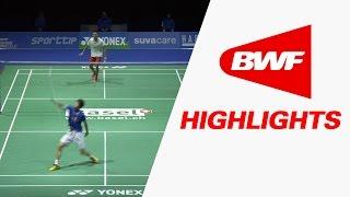 Yonex Swiss Open 2017 | Badminton F – Highlights