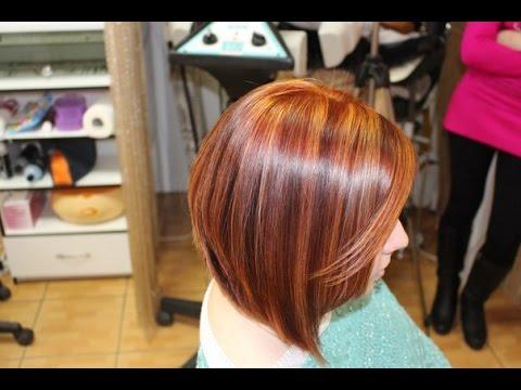 стрижка каре на короткие волосы мастер класс