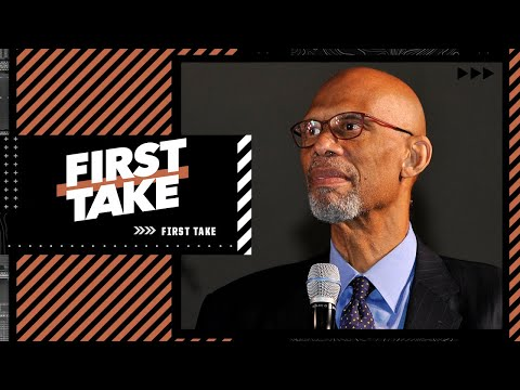 Reacting to Kareem saying the NBA should insist that all players & staff are vaccinated | First Take