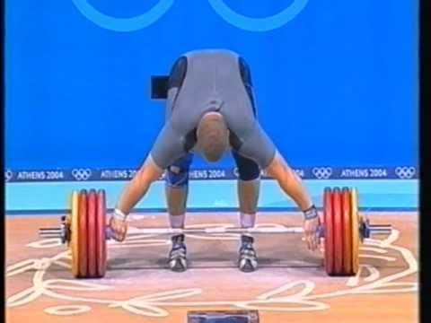 Olympic Weightlifting Athens 2004 Superheavyweight Snatch