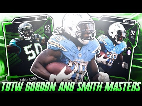 TOTW TELVIN SMITH AND MELVIN GORDON! TOTW WEEK 5 PREDICTIONS! | MADDEN 18 ULTIMATE TEAM