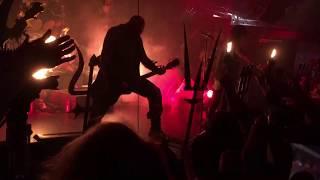 Watain - Furor Diabolicus/Outlaw, live @kraken 5 january 2018