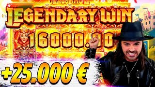 ROSHTEIN HUGE WIN 25.000€ ON NEW SLOT - Top 5 Biggest Wins of week