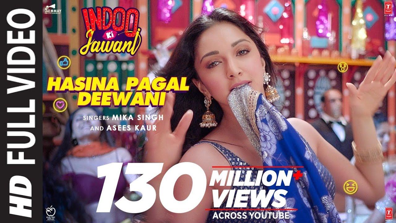 Download Hasina Pagal Deewani: Indoo Ki Jawani (Full Song) Kiara Advani, Aditya S | Mika S,Asees K,Shabbir A