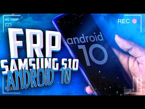 FRP! Samsung S10 Android 10 сброс аккаунта гугл.