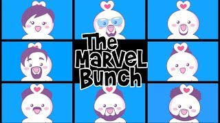"""""""The Marvel Bunch"""" Avengers: Infinity War (Impersonated by ChuChuMascots)"""