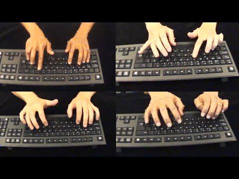 How we type. [keyboard science]