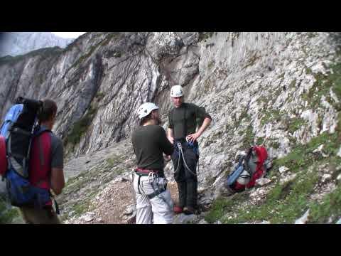 Climbing Zugspitze: Höllental Route - Part 1