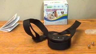 Ipow No Bark Dog Training Electric Shock Control Collar
