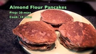 Almond Flour Pancakes, Low Carb, Gluten Free, Wheat Free