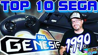 Top 10 SEGA Genesis Games of 1990!! Retro GP