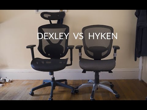 Dexley vs Hyken Staples Office Chairs Comparison