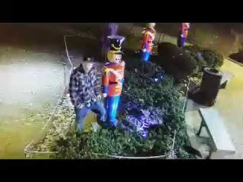 Gary Cee - Six-foot Toy Soldier Stolen from Morristown Green