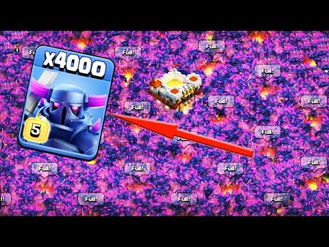 Thumbnail: 4000 Max Pekka Unbelievable Attack Funny Gameply on COC Private Server 2018