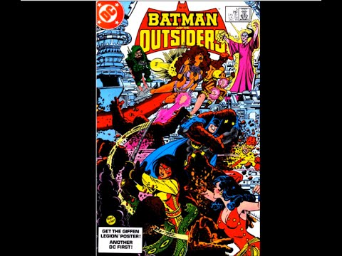"Batman and the Outsiders # 05:  ""Psimon Says"""