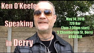 Скачать 2nd Attempt To Stop Ken O Keefe Talk In Derry FAIL 135 000 Families Pending Eviction