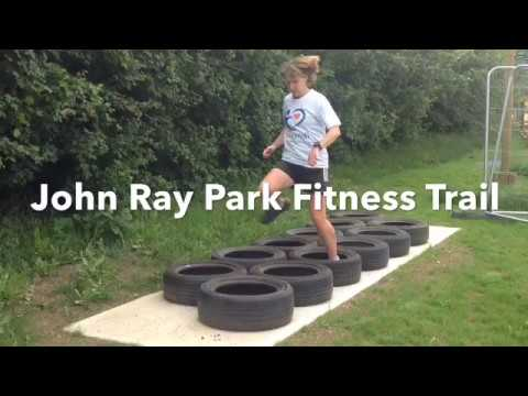 John Ray Park Fitness Trail