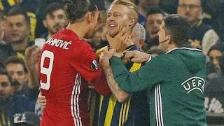 Zlatan Ibrahimovic - Best Fights \u0026 Angry Moments | 2016/2017 HD