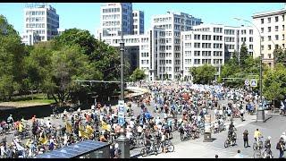Велодень в Харькове 19 мая 2019  велопарад  у Госпрома