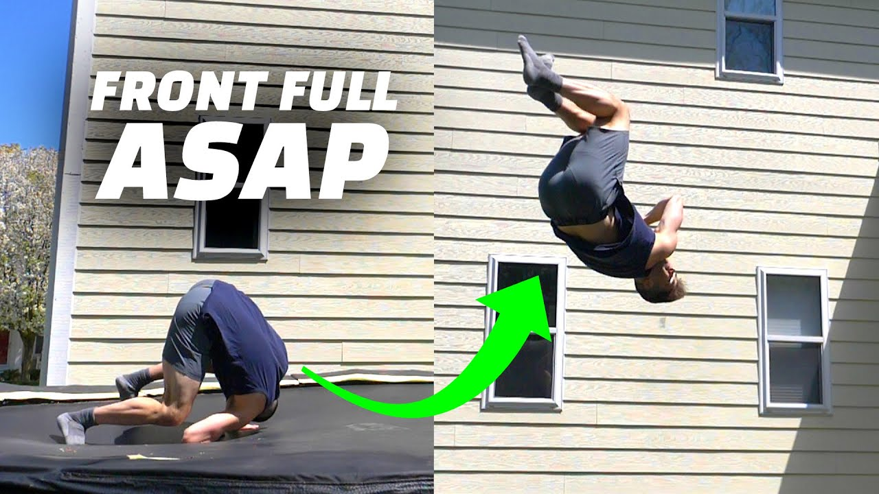 Learn the Coolest Flip that is not scary