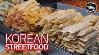 What Can You Eat at a Korean Street Food Cart in Hongdae?