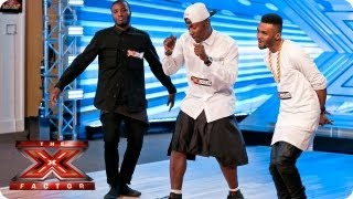 Rough Copy sing Do It Like A Dude by Jessie J - Room Auditions Week 3 - The X Factor 2013