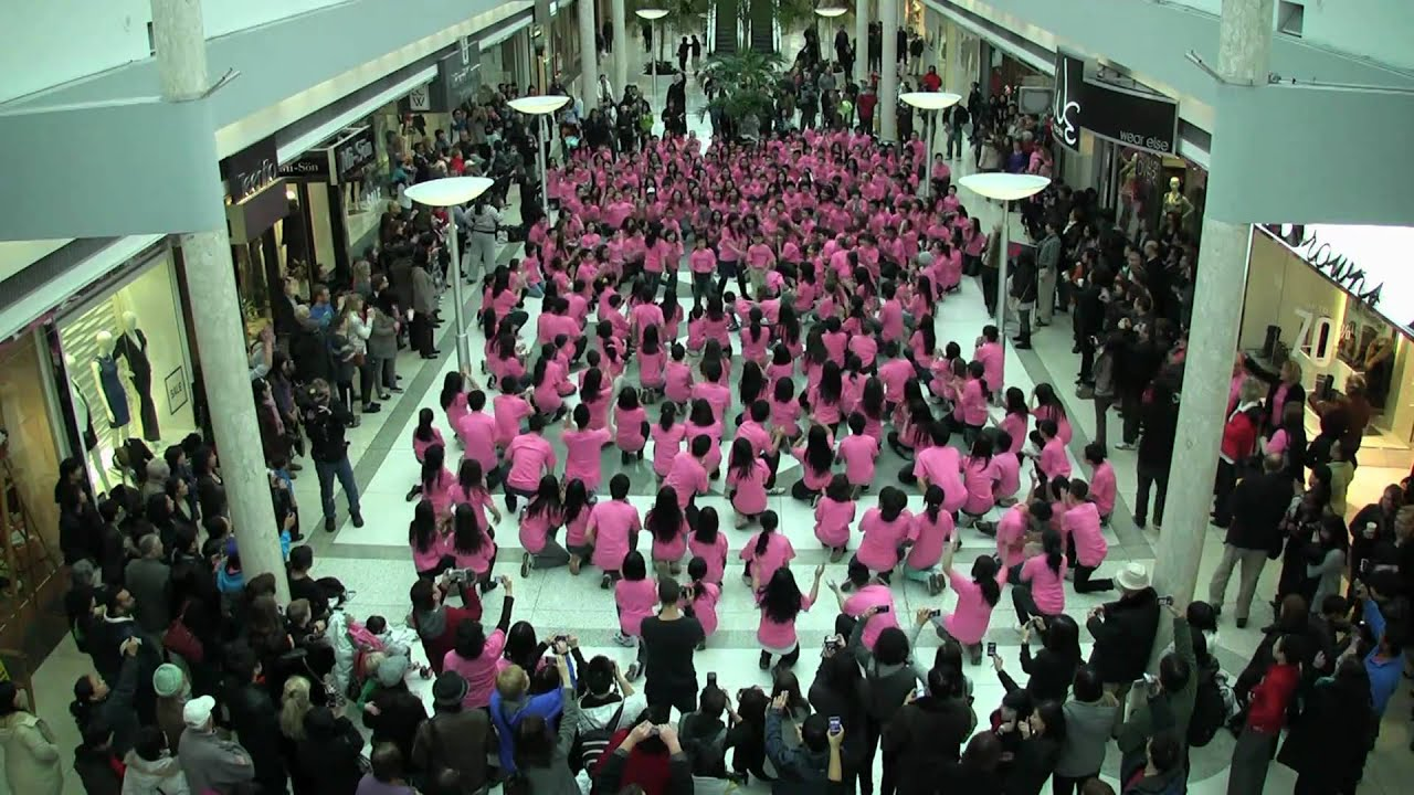 the utilization of flash mob and South korean fans of michael jackson form a dancing flash mob in  none of  these so-called flash mobs make use of new media in any.