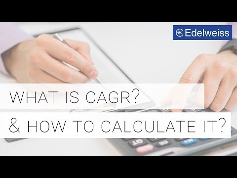What Is Compound Annual Growth Rate (CAGR)? | Investing 101| Edelweiss Wealth Management