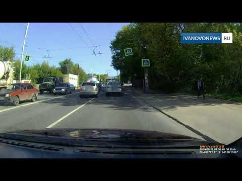 В Иванове на улице Сарментовой сбили пешехода