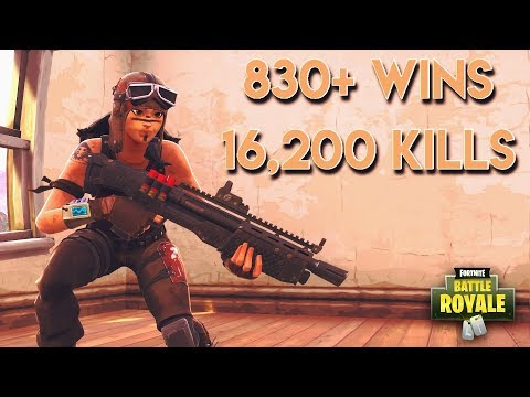 """""""TOP SOLO PLAYER"""" 830+ WINS TOP FORTNITE PLAYS w/ JARS"""