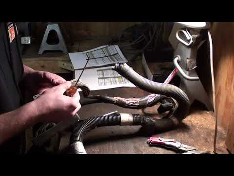 How To LS1 stand alone wiring harness building and modification