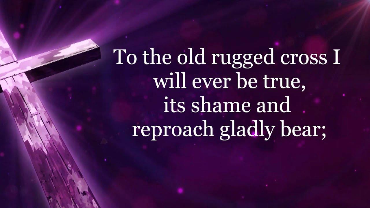 Old Rugged Cross Hd Lyrics Hymn By Alan Jackson Youtube
