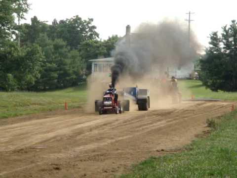 Diesel garden tractor puller YouTube