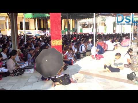 An ordinary day in Yangon (Burma)