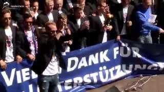 Offizielle Aufstiegsfeier des 1. FC Heidenheim 1846
